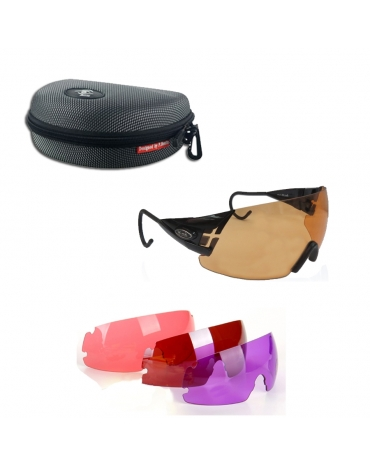 (KIT) Master  English Style Negra + 4 Lentes