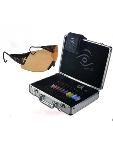 (KIT) Master  English Style Negra + 11 Lentes