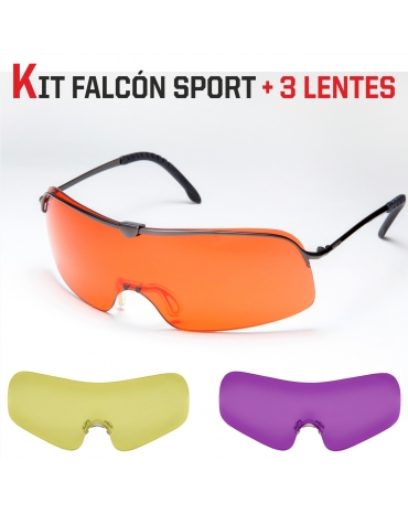 (KIT) Falcón Sport + 3 Lentes