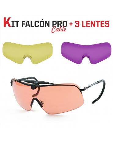 (KIT) Falcón Pro Curva + 3 Lentes