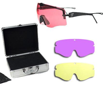 Gafas de Tiro Shoot Off Premium con 3 lentes