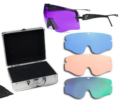 Gafas de Tiro Shoot Off Premium con 4 lentes