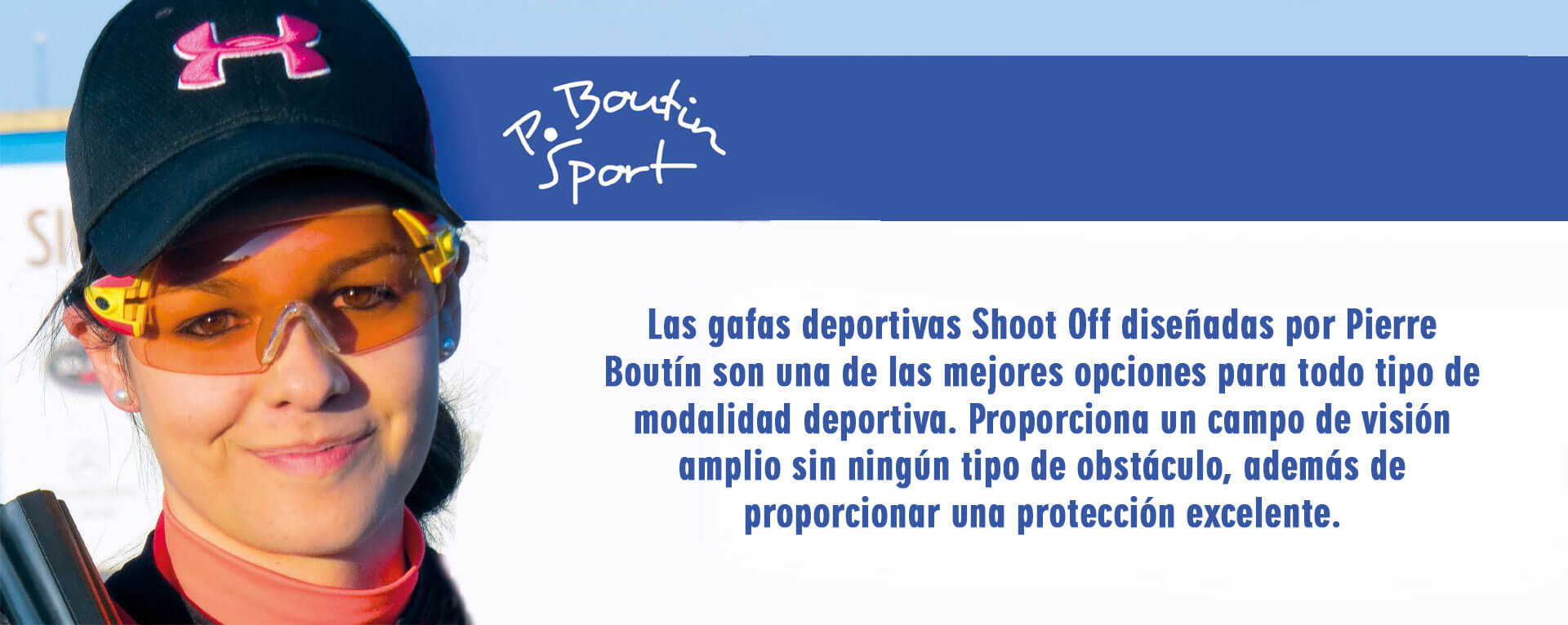 Shoot Off by Pierre Boutin Gafas de Tiro